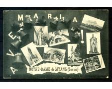 1916 - FRANCIA  - CARTOLINA DA NOTRE DAME DE MYANS (SAVOIE) A MASSA CARRARA - LOTTO/30640