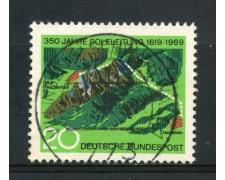 1969 - GERMANIA FEDERALE - 20p. CONDOTTO D'ACQUA SALATA - USATO - LOTTO/30968U