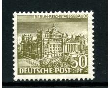 1949 - BERLINO - 50p. MONUMENTI - NUOVO - LOTTO/31948