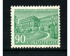 1949 - BERLINO - 90p. MONUMENTI - NUOVO - LOTTO/31950