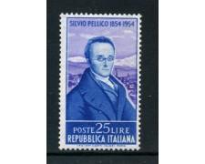 1955 - REPUBBLICA - SILVIO PELLICO - NUOVO - LOTTO/14532