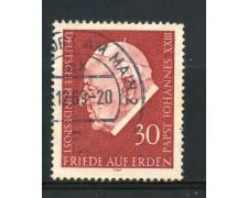 1969 - GERMANIA FEDERALE - 30p. PAPA GIOVANNI XXIII° - USATO - LOTTO/30970U