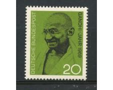 1969 - GERMANIA FEDERALE - 20p. MAHATMA GANDHI - NUOVO - LOTTO/30971