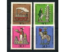 1969 - GERMANIA FEDERALE - BENEFICENZA 4v. - NUOVI - LOTTO/30972