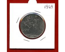 1969 - REPUBBLICA - 100 LIRE MINERVA I° TIPO - LOTTO/M31888