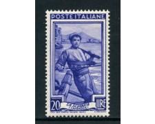 1950 - REPUBBLICA - 20 LIRE ITALIA AL LAVORO - NUOVO - LOTTO/30424