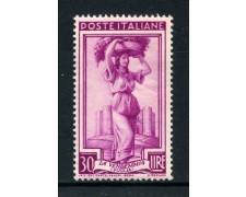 1950 - REPUBBLICA - 30 LIRE ITALIA AL LAVORO - NUOVO - LOTTO/30426