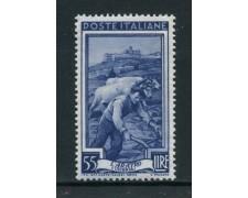 1950 - REPUBBLICA - 55 LIRE ITALIA AL LAVORO - NUOVO - LOTTO/30429