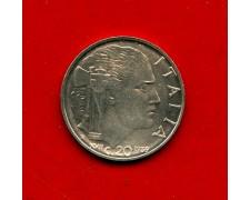 1939 - REGNO D'ITALIA - 20 CENT. IMPERO ANTIMAGNETICHE  FIOR DI CONIO - LOTTO/M30994