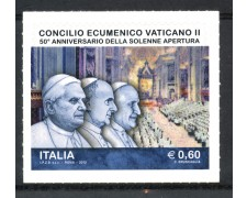 2012 - REPUBBLICA - 50° DEL CONCILIO ECUMENICO - NUOVO - LOTTO/30605