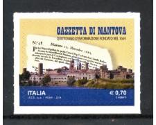 2014 - REPUBBLICA - GAZZETTA DI MANTOVA - NUOVO - LOTTO/30611