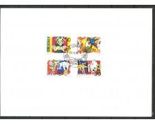 1992 - SVIZZERA - IL MONDO DEL CIRCO - SERIE SU FOLDER ANNULLO FDC - LOTTO/31979