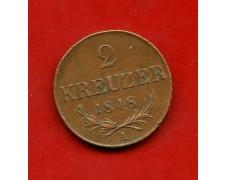 1848 - AUSTRIA - 2 KREUZER - LOTTO/M31009