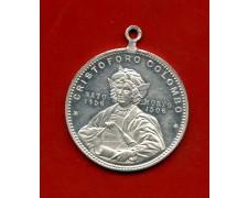 1892 - GENOVA - CRISTOFORO COLOMBO MEDAGLIA DELL'ESPOSIZIONE ITALO AMERICANA - LOTTO/M31011