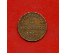 1864 - GERMANIA BAVIERA - 2 PFENNING - LOTTO/M31013