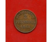 1864 - GERMANIA BAVIERA - 2 PFENNING - LOTTO/M31013