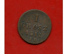 1812 - POLONIA - 1 GROSZ - LOTTO/M31015