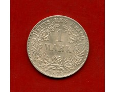 1874G - GERMANIA - 1 MARCO ARGENTO - LOTTO/M31018