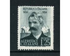 1954 - LOTTO/6236 - REPUBBLICA - ALFREDO CATALANI - NUOVO