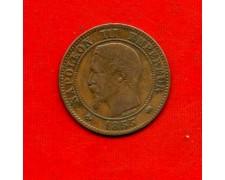 1855 - FRANCIA - 2 CENTESIMI  NAPOLEONE III° - LOTTO/M31020