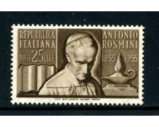 1955 - LOTTO/6284 - REPUBBLICA - ANTONIO ROSMINI - NUOVO