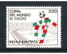 1988 - REPUBBLICA - MONDIALI DI CALCIO - NUOVO - LOTTO/30269