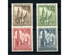 1953 - BERLINO - CHIESA DELL'IMPERATORE GUGLIELMO 4v. - NUOVI