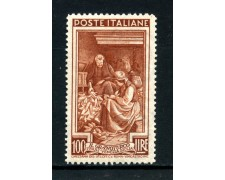 1950 - REPUBBLICA - 100 LIRE ITALIA AL LAVORO - NUOVO - LOTTO/30430