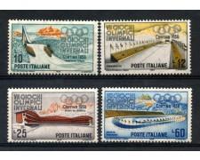 1956 - REPUBBLICA - OLIMPIADI DI CORTINA 4v. - NUOVI - LOTTO/30436