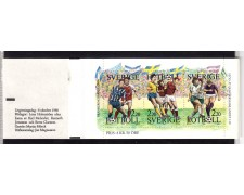1988 - SVEZIA - CALCIO SVEDESE - LIBRETTO NUOVO