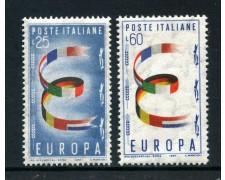 1957 - LOTTO/6319 - REPUBBLICA - EUROPA 2v.  - NUOVI