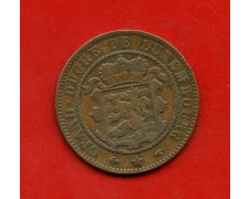 1860 - LUSSEMBURGO - 10 CENTESIMI STEMMA  WILLIAM III° - LOTTO/M31024