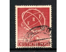 1950 - BERLINO - 20p. E.R.P - USATO - LOTTO/3431A