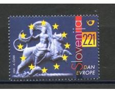 2001 - SLOVENIA - GIORNATA DELL'EUROPA - NUOVO - LOTTO/34137