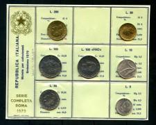 1979 - ITALIA - SERIE IN CONFEZIONE PRIVATA 7 MONETE FIOR DI CONIO - LOTTO/M30665