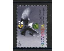 2001 - SLOVENIA - ANNIVERSARIO DELLA RESISTENZA - NUOVO - LOTTO/34144