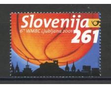 2001 - SLOVENIA - CAMPIONATO DI  BASKET BALL - NUOVO - LOTTO/34145