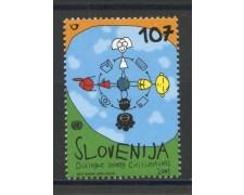 2001 - SLOVENIA - DIALOGO TRA CIVILTA - NUOVO - LOTTO/34156