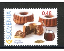 2017 - SLOVENIA - SLOVENIA NEL MONDO ARGENTINA - NUOVO - LOTTO/34679