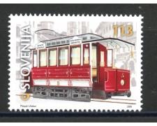2001 - SLOVENIA - LINEA TRANVIARIA - NUOVO - LOTTO/34149