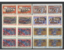 1968 - LOTTO/6510Q - REPUBBLICA - CINQUANTENARIO VITTORIA 6v. - QUARTINE NUOVI