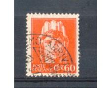 1945 - LOTTO/LUO539U - LUOGOTENENZA - 60c. ARANCIO - USATO