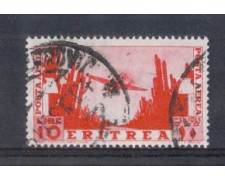 1936 - LOTTO/ERITA26U - ERITREA -  10 LIRE POSTA AEREA - USATO