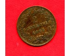 1895 - REGNO - 2 CENTESIMI ZECCA DI ROMA UMBERTO I° - LOTTO/M32348