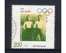 1996 - GERMANIA FEDERALE - 200+80p.  A FAVORE DELLO SPORT. - USATO - LOTTO/31227