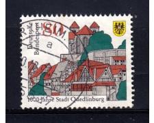 1994 - LOTTO/19104U - GERMANIA - CITTA' DI QUEDLINBURG - USATO