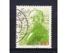 1994 - LOTTO/19106U - GERMANIA - THEODOR FONTANE - USATO