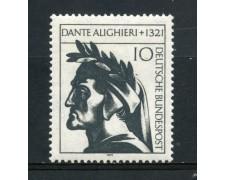 1971 - GERMANIA - DANTE ALIGHIERI - NUOVO - LOTTO/31050