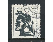 1971 - GERMANIA - DANTE ALIGHIERI - USATO - LOTTO/31050U