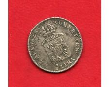 1823 - LOMBARDO VENETO - 1/4 DI LIRA AUSTRIACA - LOTTO/M32383